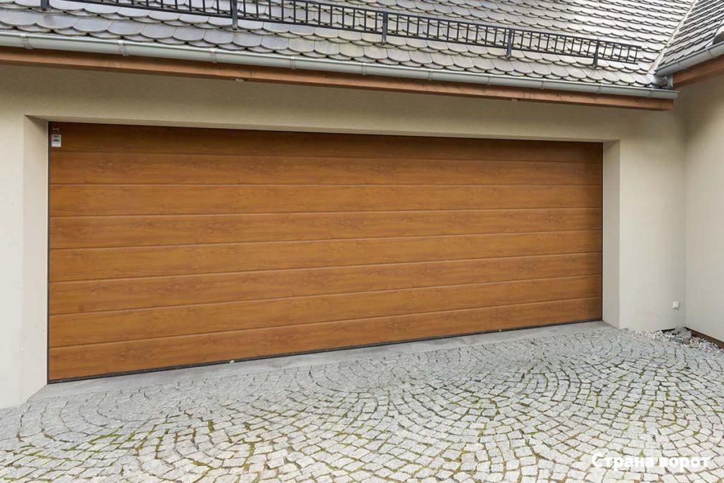 гаражные ворота херман реноматик