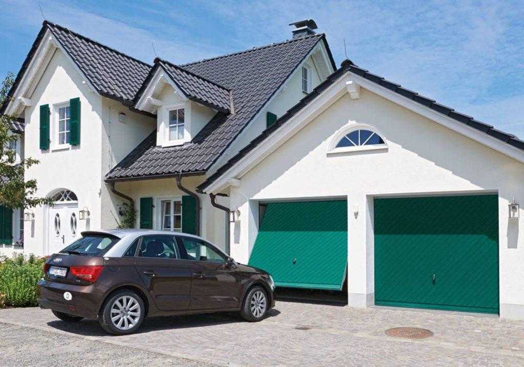 ворота гаражные подъемно щитовые херман берри