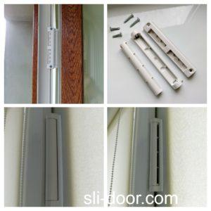 Приточный клапан для проветривания помещения на металлопластикове окно.